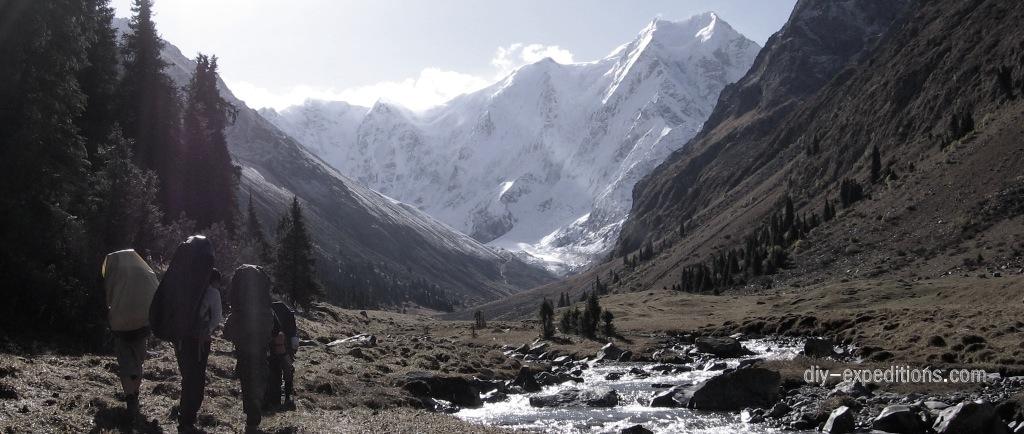 Tien Shan, Kirgisistan