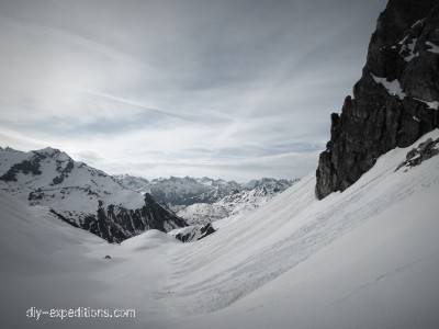 St.Anton Arlberg Skitour Winter