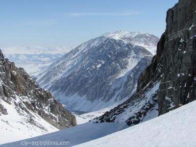 Ski touring in Siberia